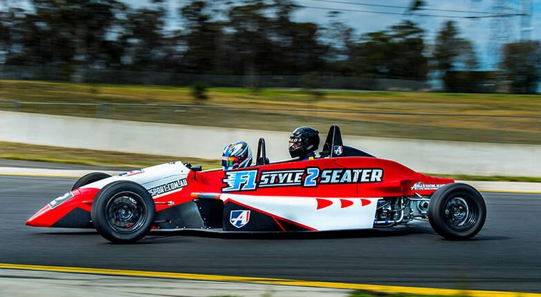 F1 Style Race Car Driving and Hot Laps Combo - Wodonga VIC