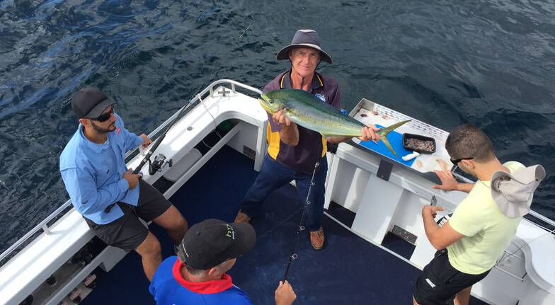Full Day Sport Fishing Charter with Breakfast and Lunch