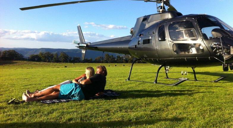 Scenic Helicopter Flight with Picnic Lunch Stop - For 2