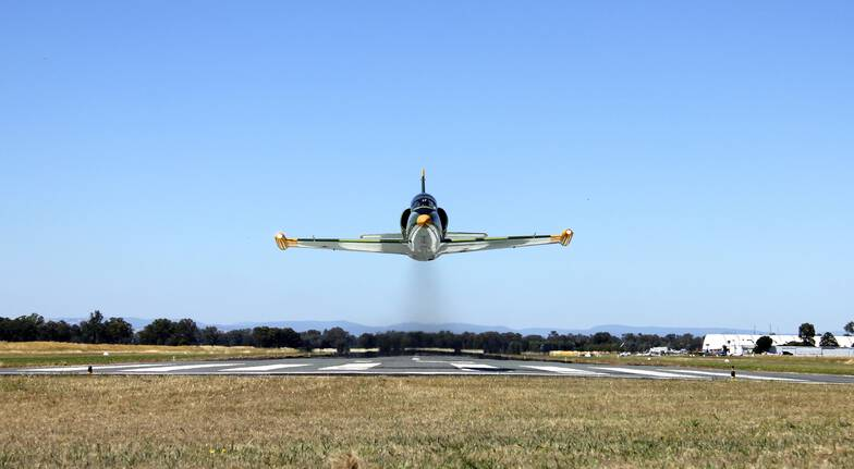 Jet Fighter Flight - Wangaratta - 15 Minutes