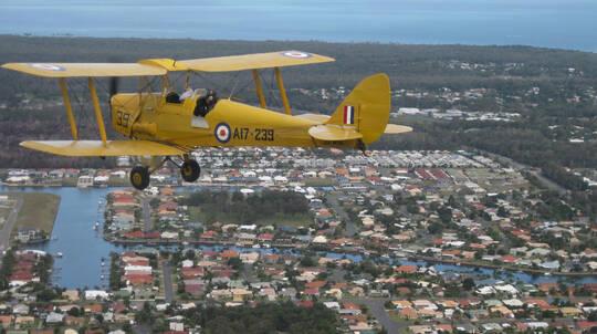 Tiger Moth Joy Flight - 60 Minutes