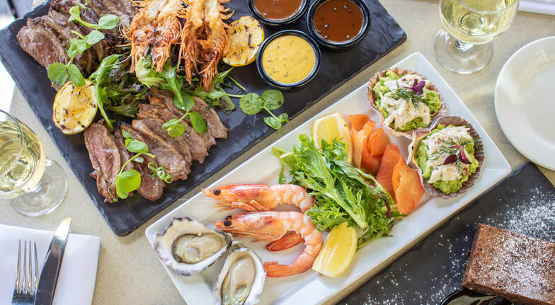 Mediterranean Waterfront Dining Experience with Wine - For 2