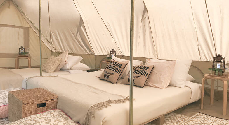 Luxury Glamping at Glenworth Valley - 2 Nights - For 4