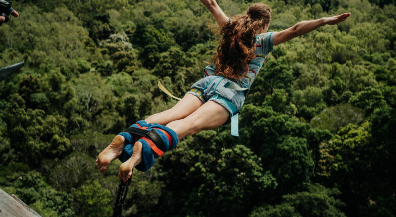 Bungy Jump and Jungle Swing Combo