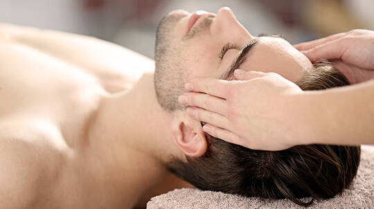 Men's Custom Facial and Full Body Relaxation Massage