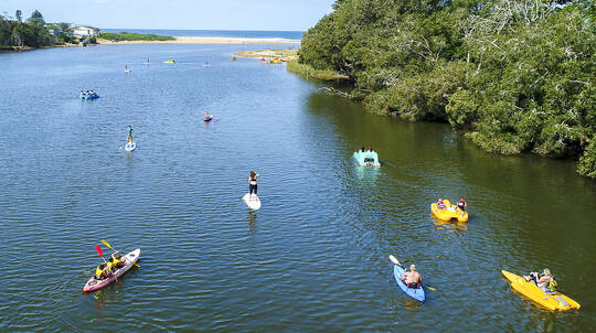 Paddle Board, Kayak and Pedal Boat Hire - 2 Hours