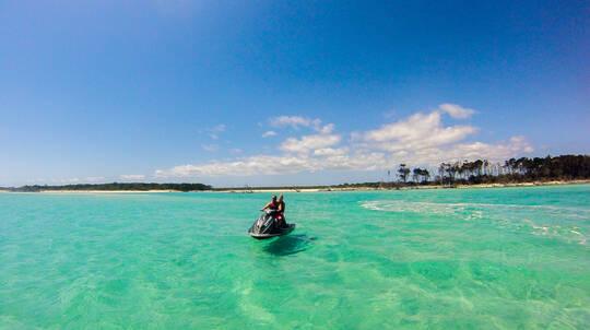 Fraser Island Guided Jetski Tour