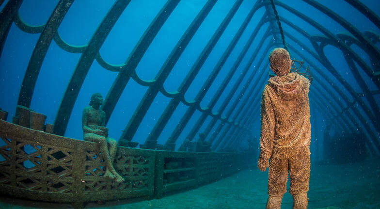 Museum of Underwater Art Certified Diver Tour - Full Day