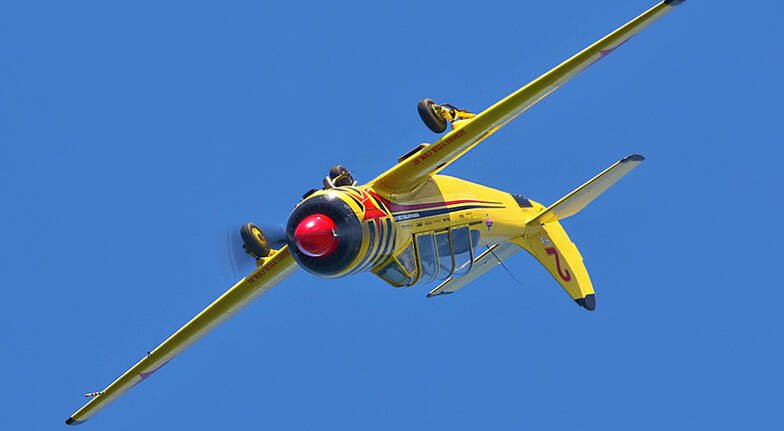Intro Warbird Aerobatic Flight