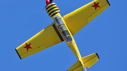 Aerobatic Flight Reconnaissance Mission - Weekend