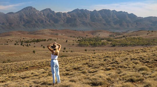 Flinders Ranges Getaway with Breakfast and Tour - 2 Nights