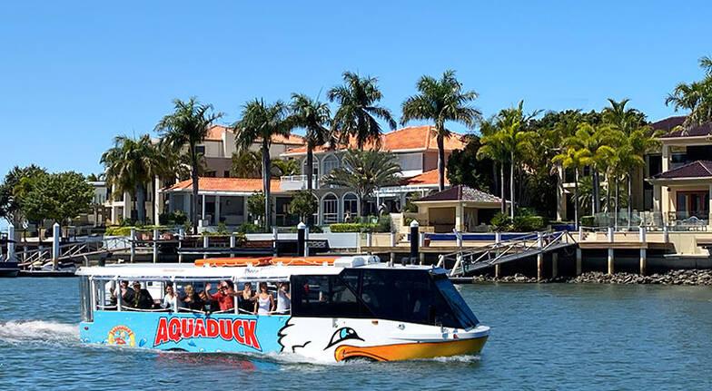 Aquaduck Mooloolaba Land and Water Tour - 60 Minutes