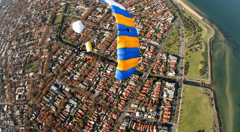 Skydive Over St Kilda, Melbourne - 15,000ft - Midweek