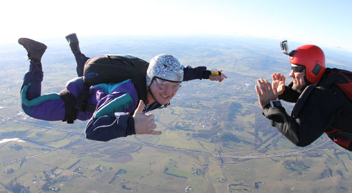 Solo Skydive - Stage 1 First Jump