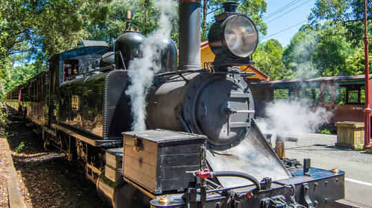 Puffing Billy Heritage Steam Train Journey - Half Day Tour