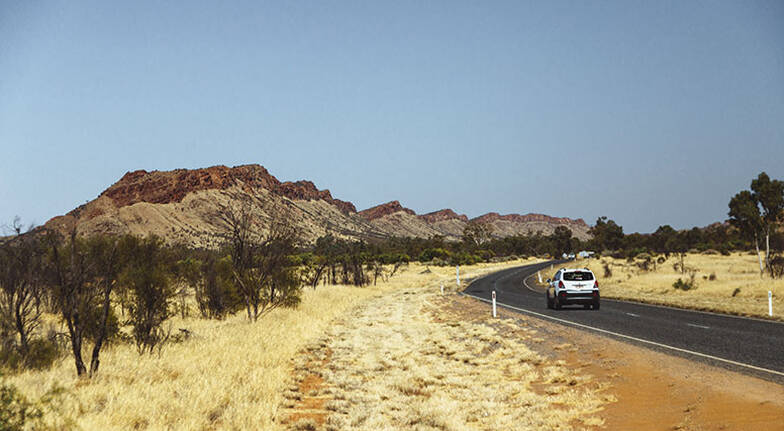 Half Day West MacDonnell Ranges Tour  45 Hours