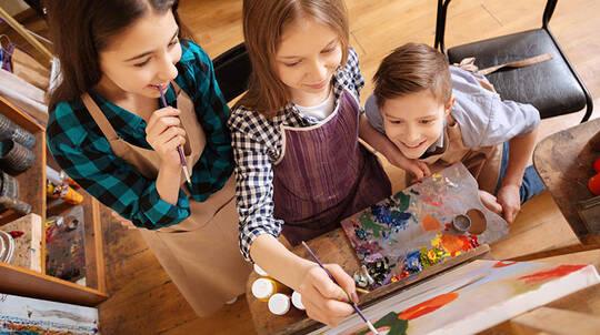 Kids After School Art Class - Byron Bay - 1.5 Hours