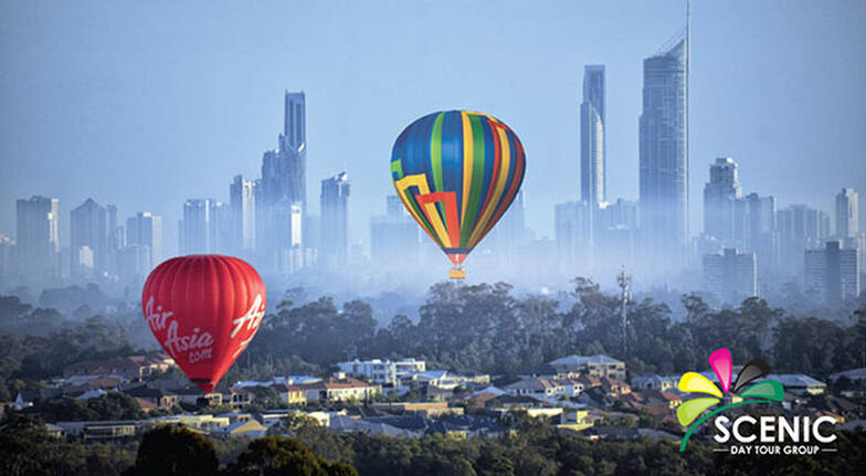 Hot Air Ballooning Over Gold Coast with Champagne Breakfast
