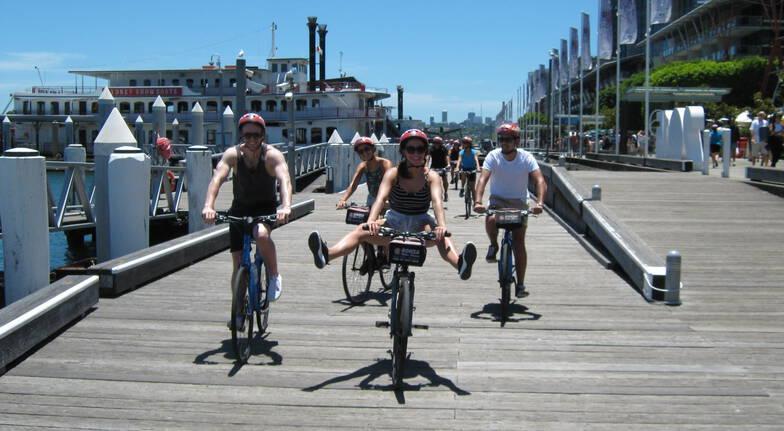 Sydney Highlights Bike Tour