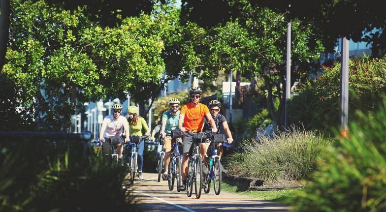 Brisbane Morning Guided Bike Tour
