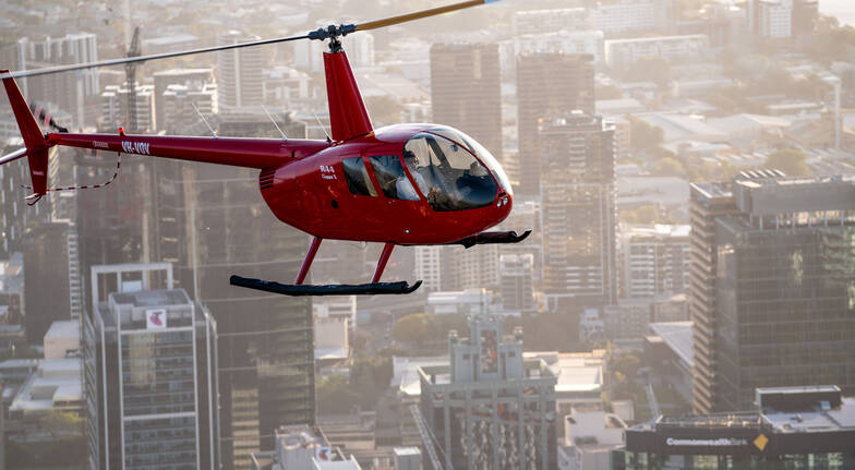 Private Helicopter Flight Over Brisbane - 20 Minutes - For 2