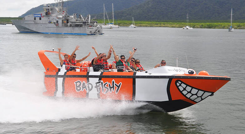 Cairns Jet Boat Ride  35 Minutes