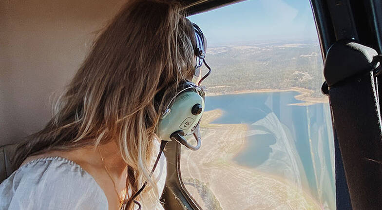 30 Minute Scenic Helicopter Flight over the Barossa Valley