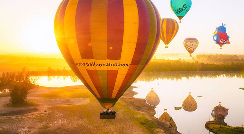 Hot Air Ballooning Over The Hunter Valley with Photos For 2
