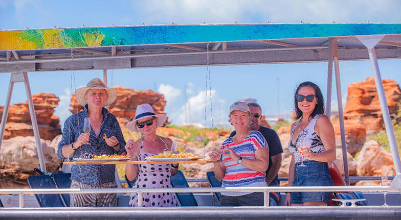 Broome Scenic and Prehistoric Boat Tour  3 Hours