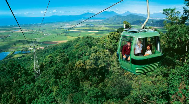 Green Island Cruise, Skyrail and Railway Adventure - Child