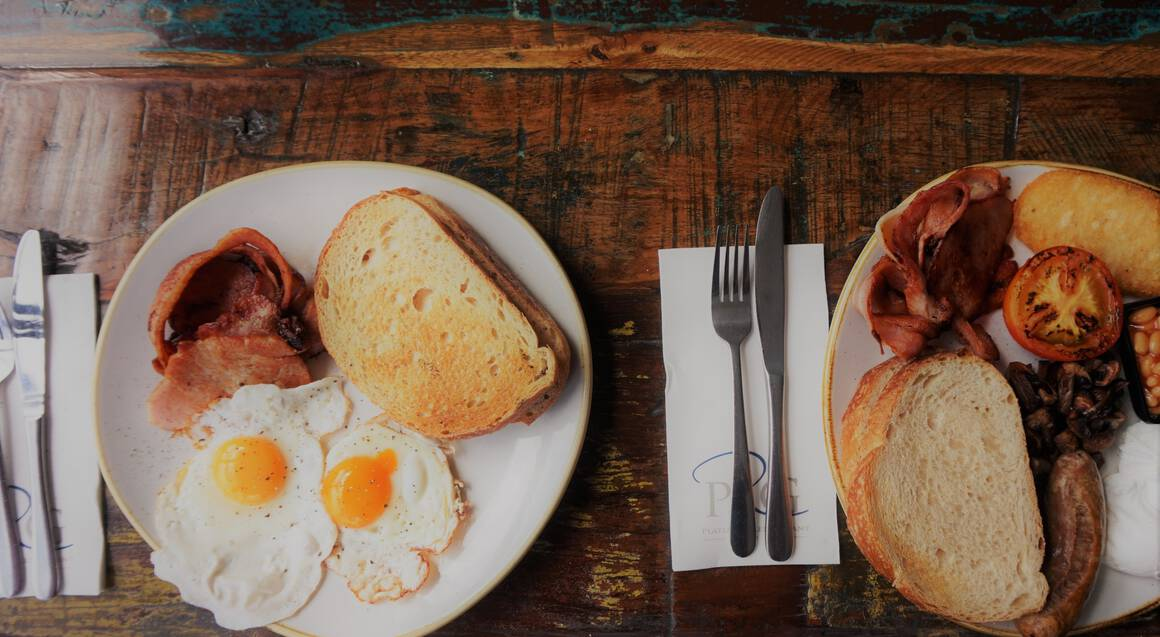 Gourmet Harbourside Breakfast with Sparkling Wine - For 2