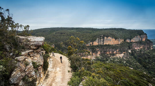 Narrow Neck Trail Self Guided Mountain E-Bike Tour