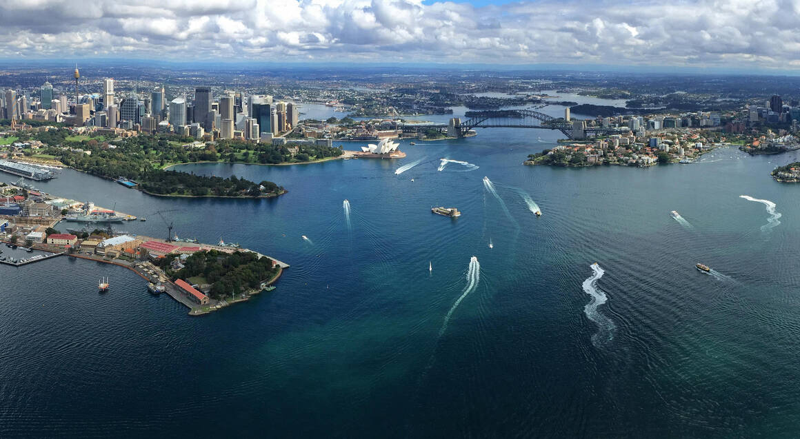 Scenic Helicopter Flight Over Sydney - 20 Minutes