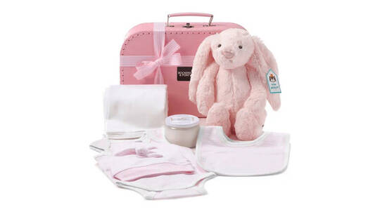 Luxury Baby Girl Hamper - Classic