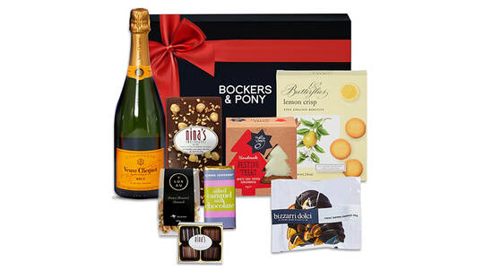 Christmas Feast and Veuve Clicquot Gift Hamper
