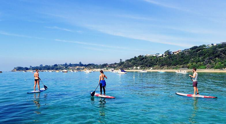 Stand Up Paddle Boarding Hire and Hot Springs Entry - For 2