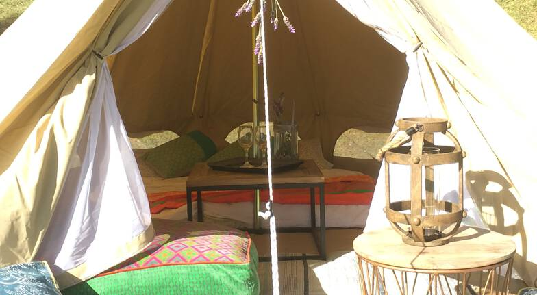 Overnight Glamping Getaway - For 2