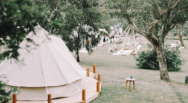 Mornington Peninsula Overnight Glamping Stay with Breakfast