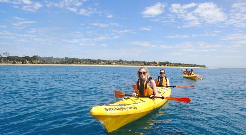 Sea Kayak Tour and Peninsula Hot Springs