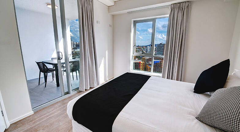 Brisbane 1 Night Stay in a 2 Bedroom Executive Room  For 4