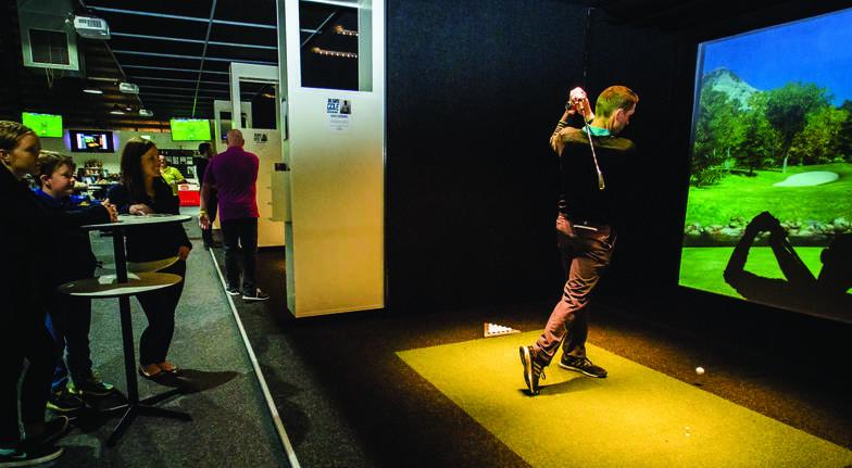 Realistic Golf Simulator - Melbourne - 3 Hours