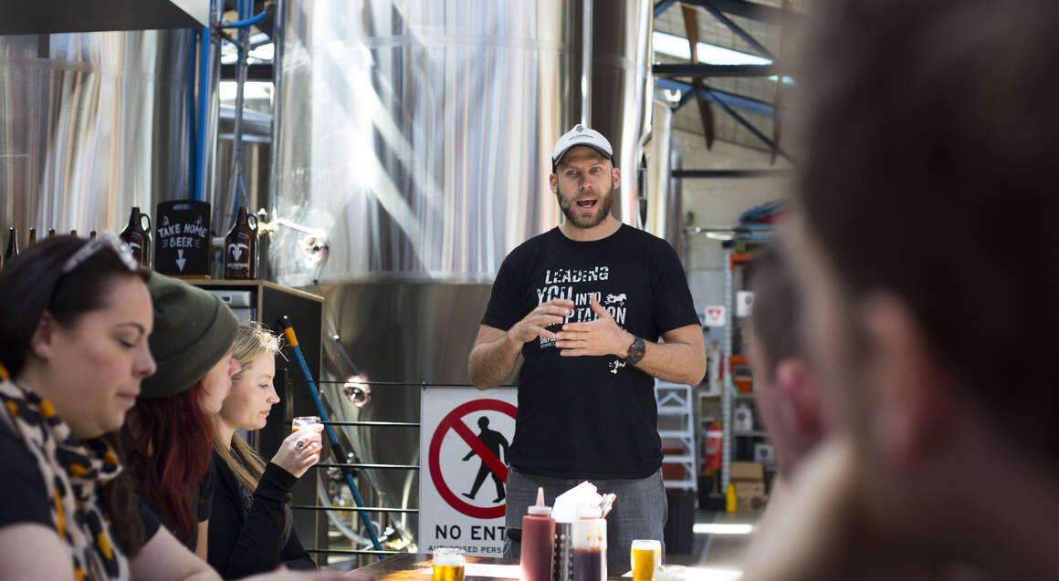South Melbourne Brewery Tour with Lunch