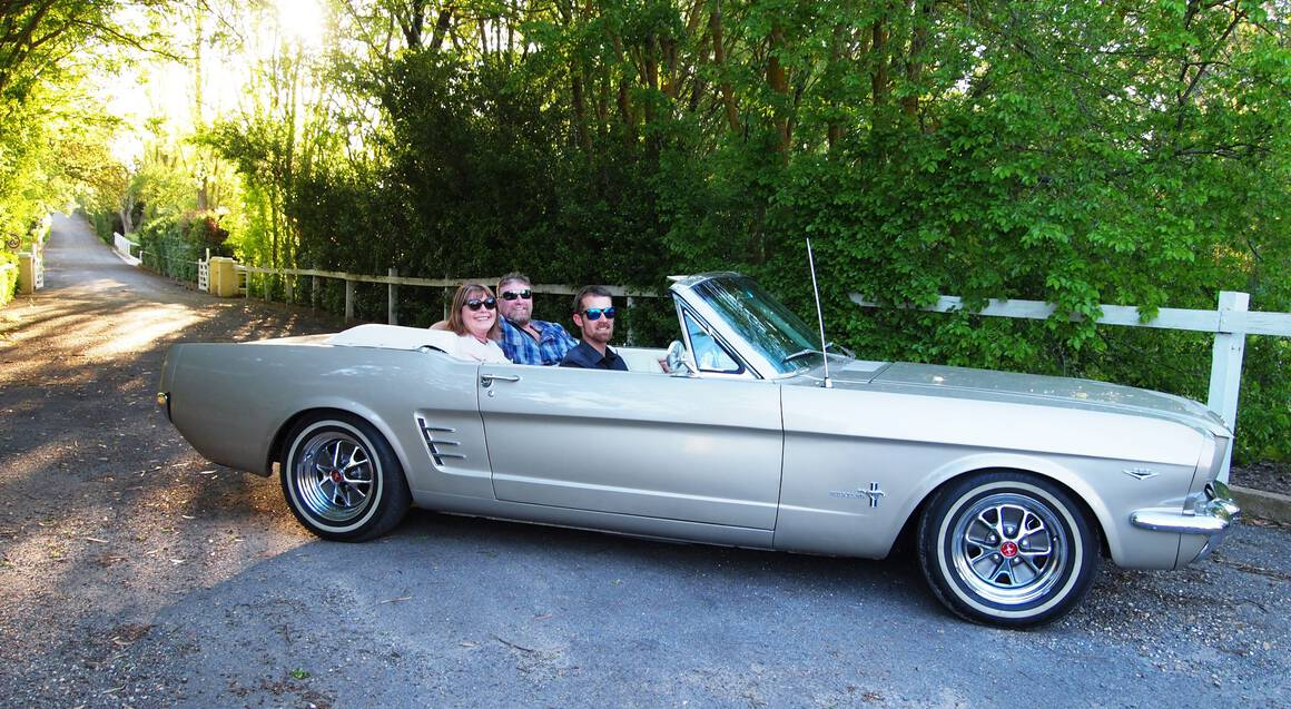 Explore Barossa Valley in a Ford Mustang - 3.5 Hours - For 2