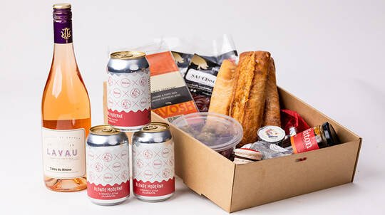 French Picnic Hamper by Bitton Rose Bay - For 5