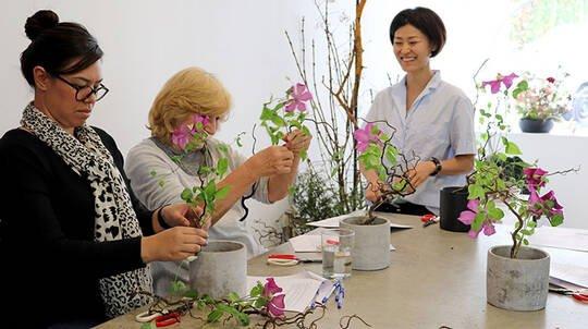 Ikebana Making Workshop - 2 Hours