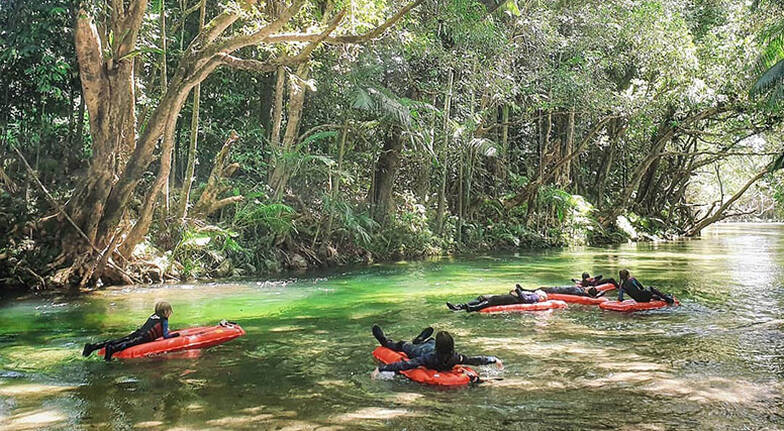 River Drift Snorkelling with Transfers - 3.5 Hours