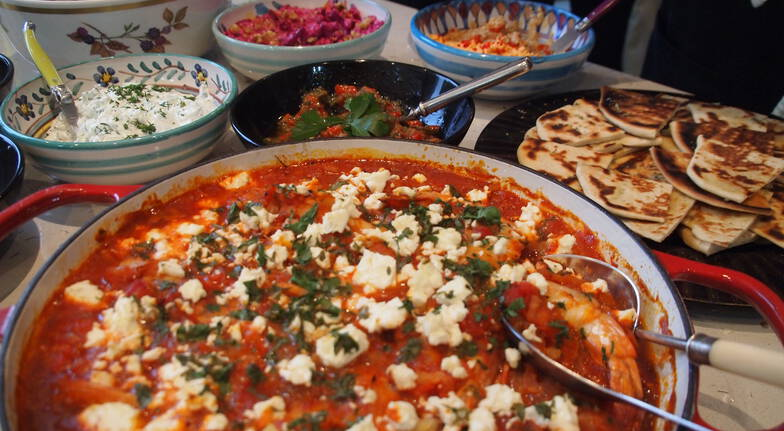 Marvellous Mediterranean Cooking Class with Wine