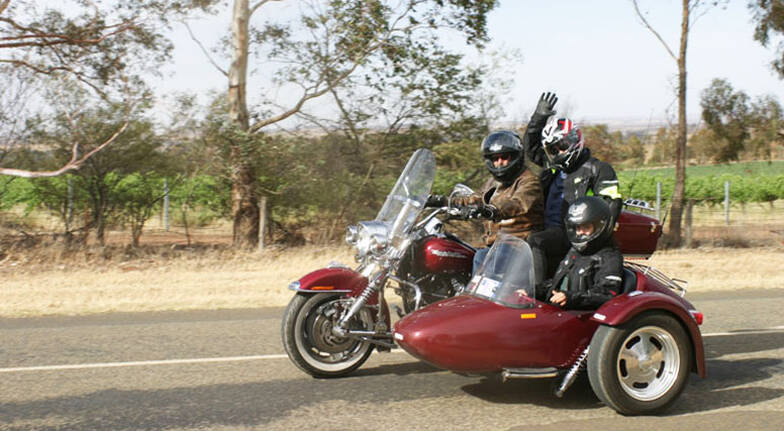 Harley Davidson and Sidecar Tour to Gooloogong - For 2