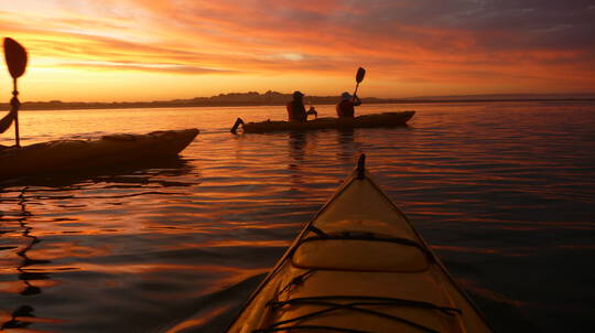 Sunset Kayaking Tour with Picnic - 3 Hours