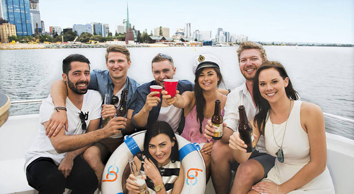 Floating Bar on the Swan River - Entry For 4